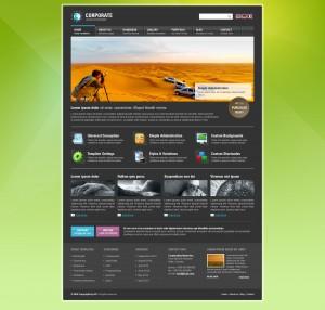 Black Homepage